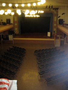 Inside the Bayview Opera House.... 30,600 sqft