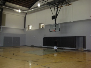 Joseph Lee Recreation Center's Basketball Gymnasium